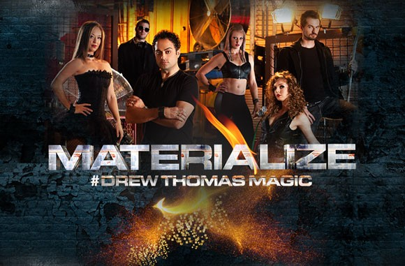"Drew Thomas: ""Materialize"" Ad"
