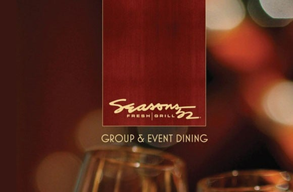 Seasons 52: Group & Event Brochure
