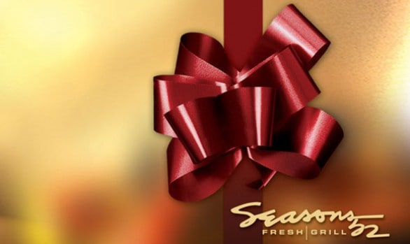 Seasons 52: Gift Envelope