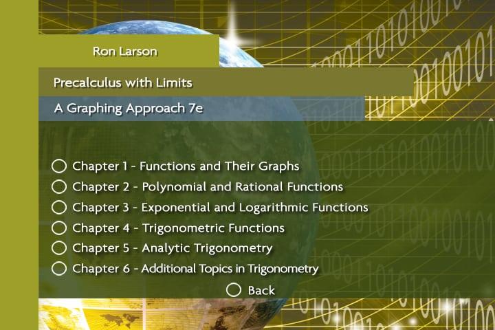 Larson Precalculus with Limits, Real Math, 7e - Orlando - FL